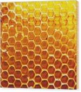 Honey Beehive Wood Print