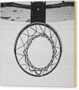 Hoop Dreams Wood Print