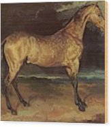Horse In The Storm 1821 Wood Print