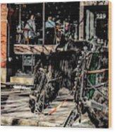 022 - Horses Wood Print