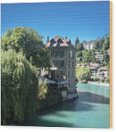 hot summer afternoon in Bern Wood Print