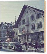 Hotel Olden Wood Print