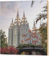 House Of The Lord Wood Print