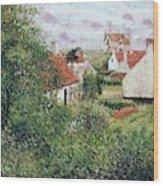 Houses At Knocke, Belgium, 1894 Wood Print