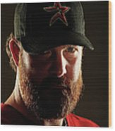 Houston Astros Photo Day Wood Print