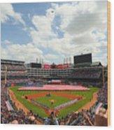 Houston Astros  V Texas Rangers Wood Print