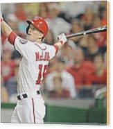 Houston Astros V Washington Nationals Wood Print