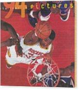 Houston Rockets Hakeem Olajuwon, 1994 Nba Finals Sports Illustrated Cover Wood Print