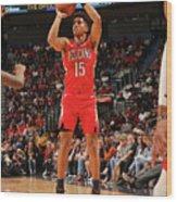 Houston Rockets V New Orleans Pelicans Wood Print