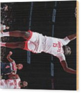 Houston Rockets V Washington Wizards Wood Print