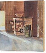 Hovander Park Old Barn, Wa Wood Print