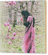 Scent Of Magnolia Wood Print