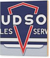Hudson Motor Co. Wood Print