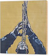Hugh Masakela Wood Print