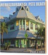 Hurricane Restaurant St. Pete Beach Wood Print