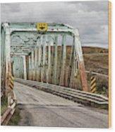 Hwy 552 Bridge Wood Print