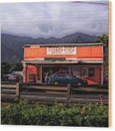 Hygienic Store, Kahalu'u Wood Print