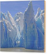 Ice Castles On A Sunny Day At The Grey Wood Print