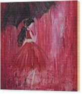 If It Rains Will You Be There For Me Wood Print