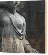 If Not For You - Statue Wood Print