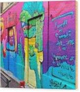 If You Love Graffiti  Wood Print