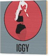 Iggy Azalea Wood Print