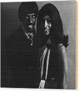 Ike And Tina Wood Print