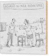 Ikea Reenactors Wood Print