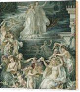 Illustration Depicting Lysander, Hermia Wood Print