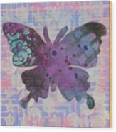 Imagine Butterfly Wood Print