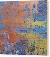 In The Horizon Ll Wood Print