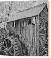 In The Smoky's II Wood Print
