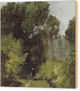 In The Woods, 1864 Wood Print