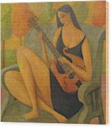 Incidental Music Wood Print