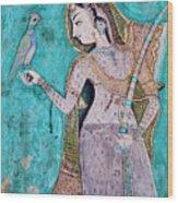 India, Rajasthan, Bundi Castle Wood Print
