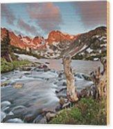 Indian Peaks Wilderness Lake Isabelle Wood Print