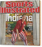 Indiana University Cody Zeller, 2012-13 College Basketball Sports Illustrated Cover Wood Print
