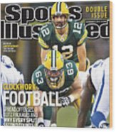 Indianapolis Colts V Green Bay Packers Sports Illustrated Cover Wood Print