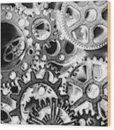 Industry Iron Wood Print