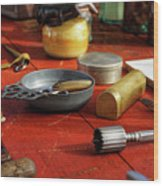 Instruments Of Healing Wood Print