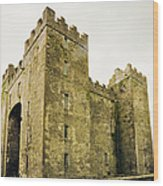 Ireland Bunratty Castle In County Wood Print