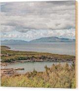 Irish Coastline Wood Print
