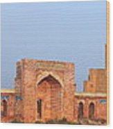 Isa Khan Tombs Of Makli Wood Print