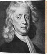 Isaac Newton 1642-1727, English Wood Print
