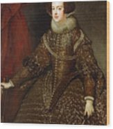 Isabella  Queen Of Spain  Wood Print