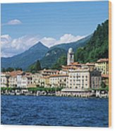 Italy, Lombardy, Bellagio Wood Print