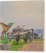 Itchimbia Park Wood Print
