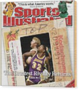 Its A Classic, Lakers Vs. Celtics The Greatest Rivalry Sports Illustrated Cover Wood Print
