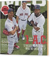 Its Year 1 A.c. after Cubs, 2017 Mlb Baseball Preview Issue Sports Illustrated Cover Wood Print