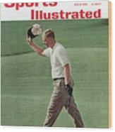 Jack Nicklaus, 1962 Us Open Sports Illustrated Cover Wood Print